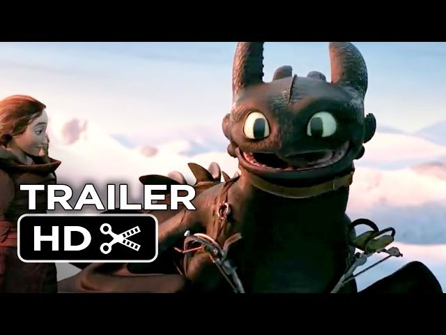 how to train your dragon 2 2014 trailer