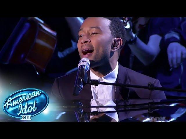 Idol finale john legend amp malaya watson american idol season