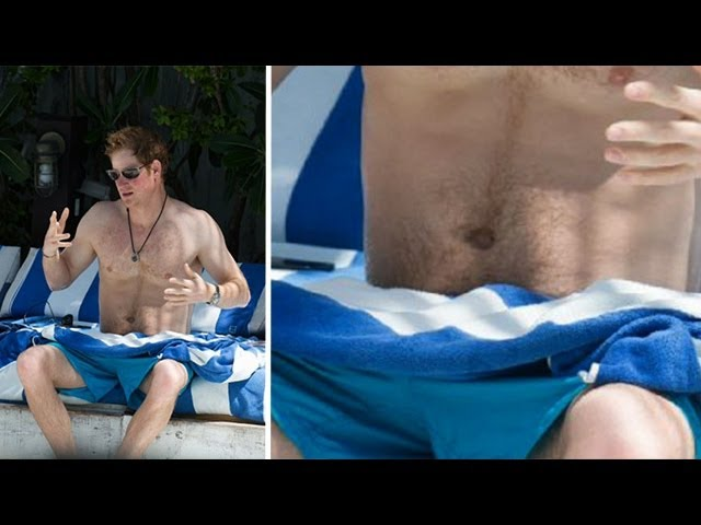 Prince harry's cock and balls