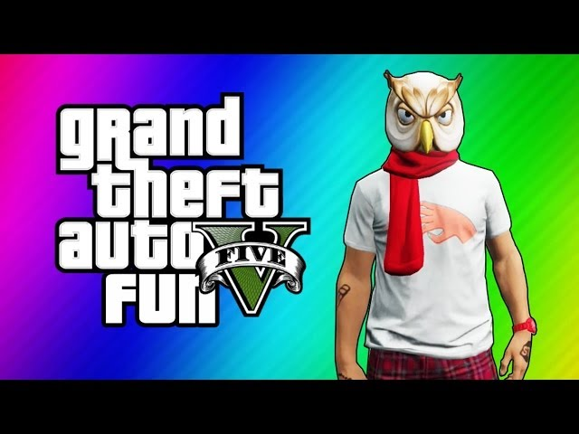 Vanoss gaming gta 5 online funny moments night owl vs bane