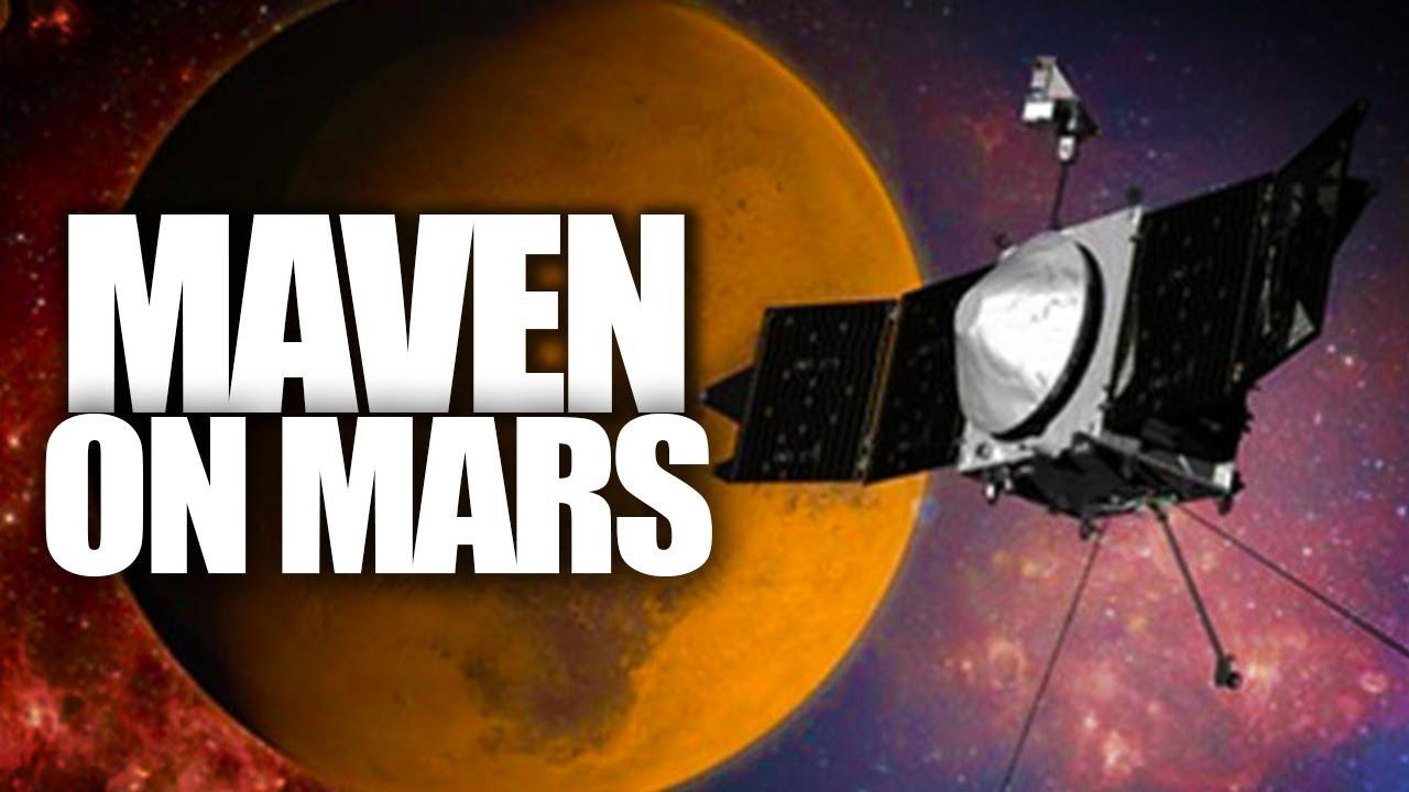 maven space probe to mars november 18 2017 - photo #24