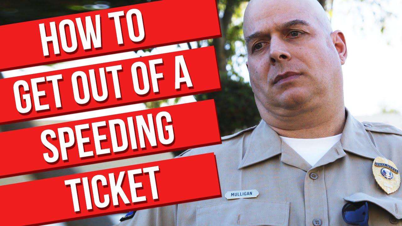 how to get out of a speeding ticket We've handled many traffic ticket cases in minnesota, so we know some industry  tricks to avoid a speeding ticket here are some tips.