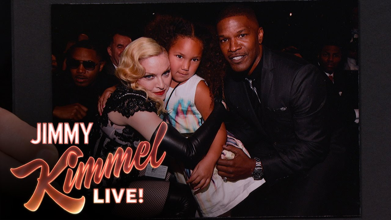 Jamie Foxxs Daughter Met Madonna At The Grammys  Inthefame-7491