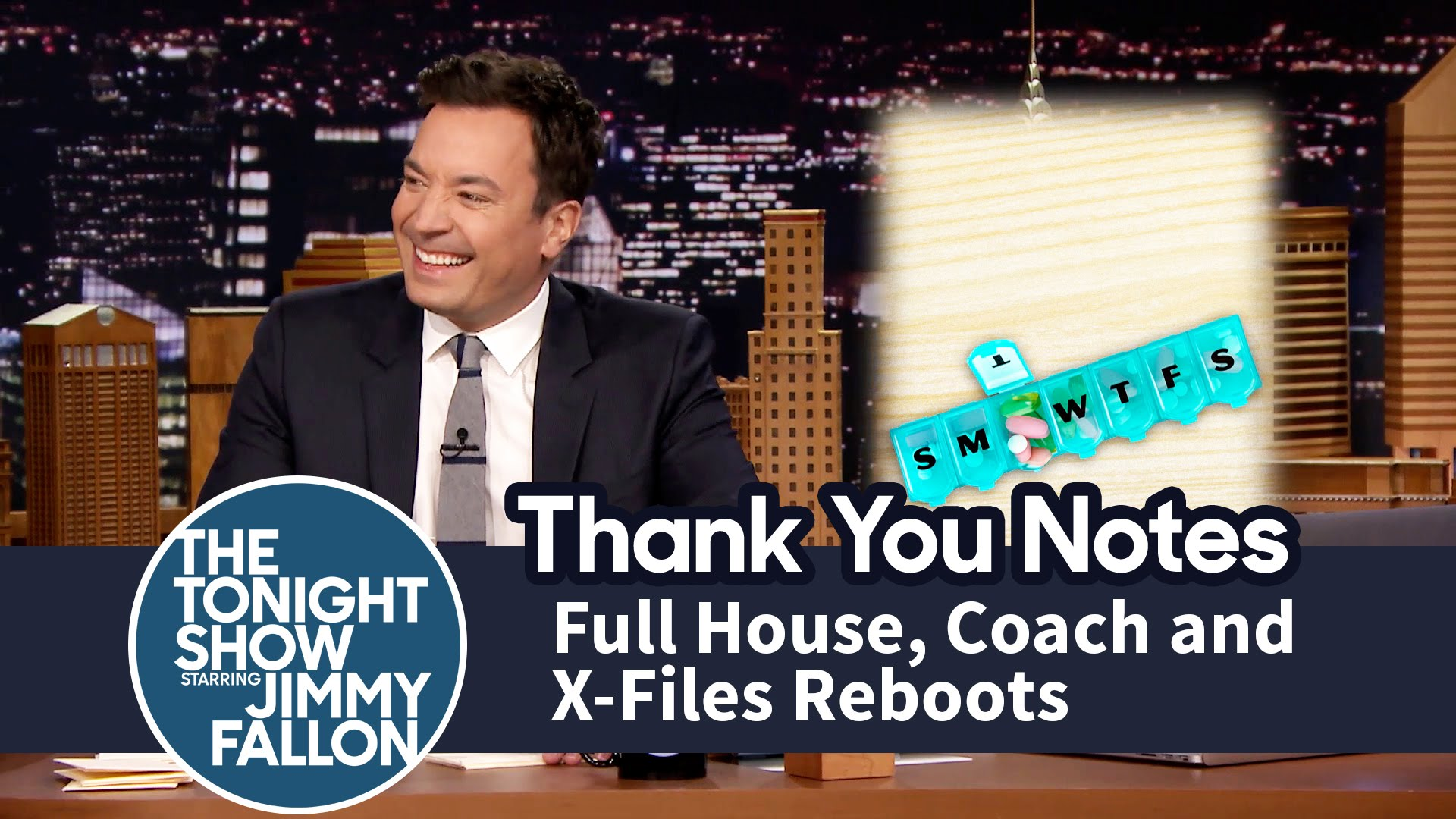 Thank You House: Thank You Notes: Full House, Coach And X-Files Reboots