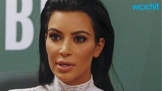 Even Kim Kardashian Has to Unbutton Her Pants Sometimes