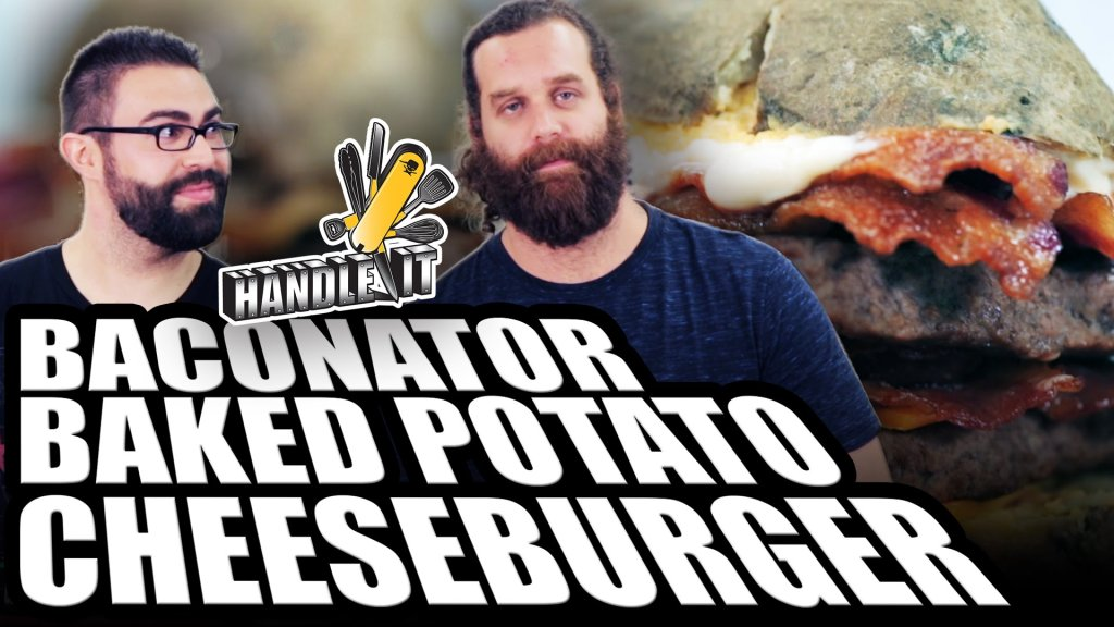 Baconator Baked Potato Cheeseburger – Handle It – INTHEFAME