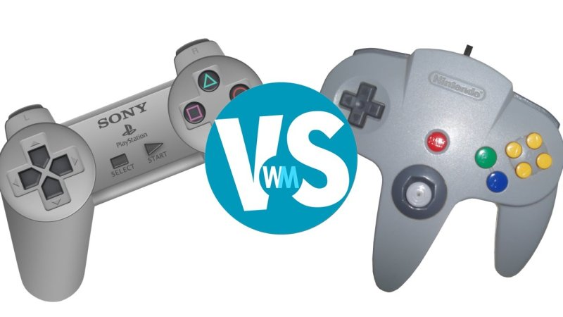 playstation vs nintendo 64 Nintendo 64 vs sony playstation 1 (ps1) nintendo 64 and sony playstation 1 (ps1)are two popular game consoles that everyone know.