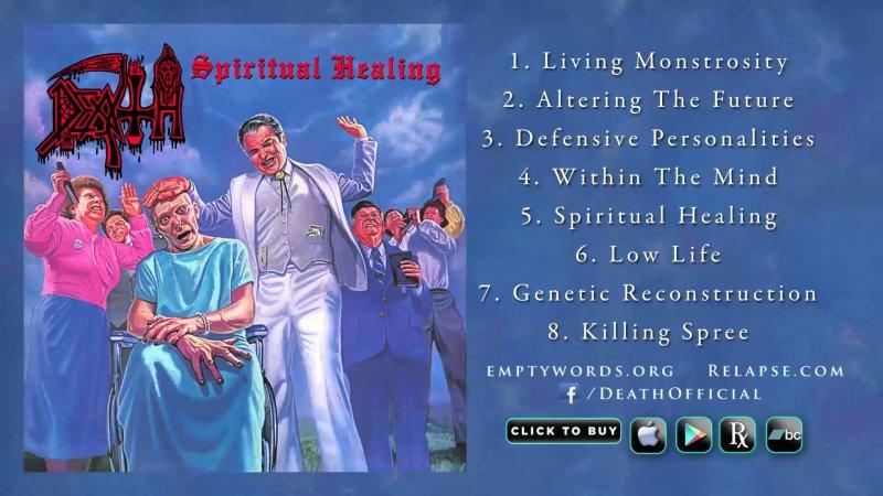 DEATH – 'Spiritual Healing' Reissue (Full Album Stream ...