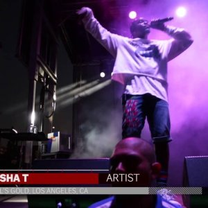 """Pusha T performs """"Grindin"""" at Fool's Gold Day Off LA"""