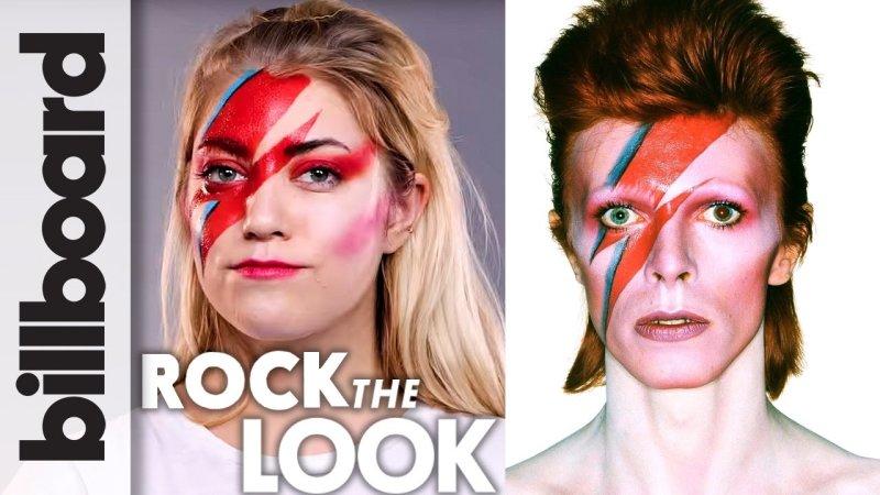 David bowie lightning bolt makeup