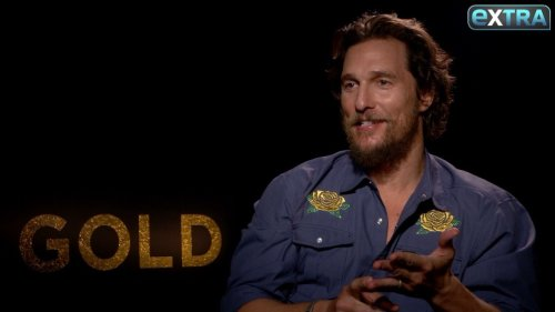 Matthew McConaughey on His 47-Lb. Weight Gain for 'Gold'