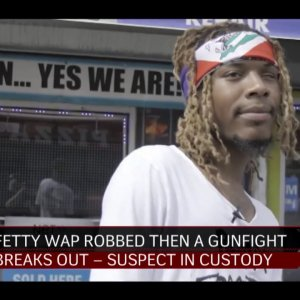 Fetty Wap Robbed in Hometown