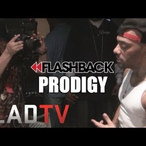 Flashback: Prodigy and French Montana Hit the Studio