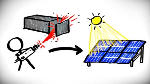 Solar Panels Made With a Particle Accelerator?!