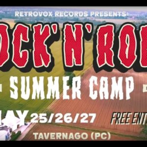 Rock 'n' Roll Summer Camp – 2018 – Retrovox Records – Official Teaser Video