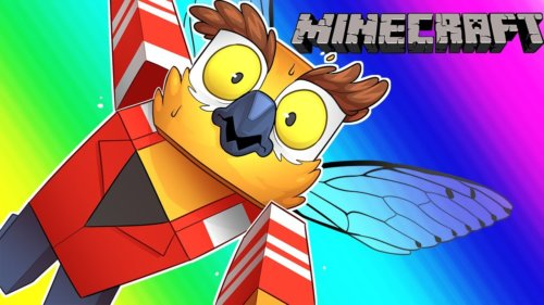 Minecraft Funny Moments – The Terrible Quest for Flight!