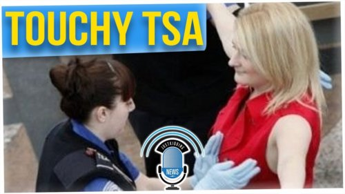TSA Agent Searches More Than Necessary on Woman (ft. Tahir Moore)